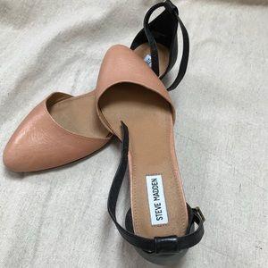 Steve Madden shoes beige and black size 8